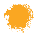 Image of orange paint splatter on call for entry pricing page